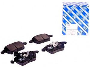 Колодки тормозные передние VK TECHNOLOGY VT 32027 для AD VW SEAT SKODA PA 03->06