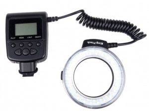 Кольцевая вспышка Andoer RF-550D Macro 48 LED для Canon Nikon Pentax Olympus Panasonic Sony DSLR