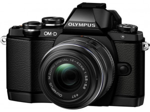 Фотоаппарат Olympus OM-D E-M10 kit 14-42mm f/3.5-5.6, черный X2492