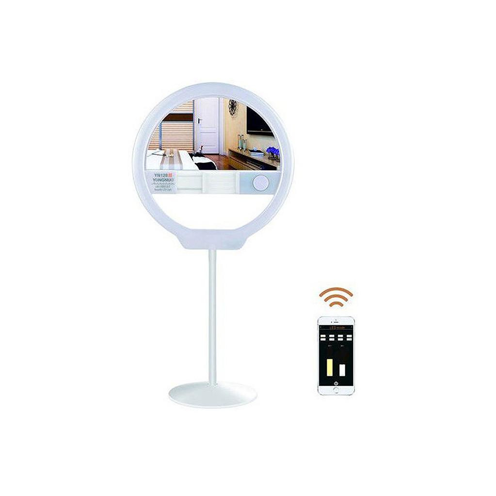 Кольцевой портативный светодиодный осветитель Yongnuo YN128 II 3200-5500K белый