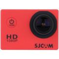 Экшн камера SJCAM SJ4000, красная
