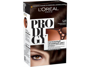 L'Oreal Prodigy Краска для волос тон 4.0 темный орех