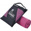 Полотенце спортивное охлаждающее RoadLike Travel 50*100 см фуксия