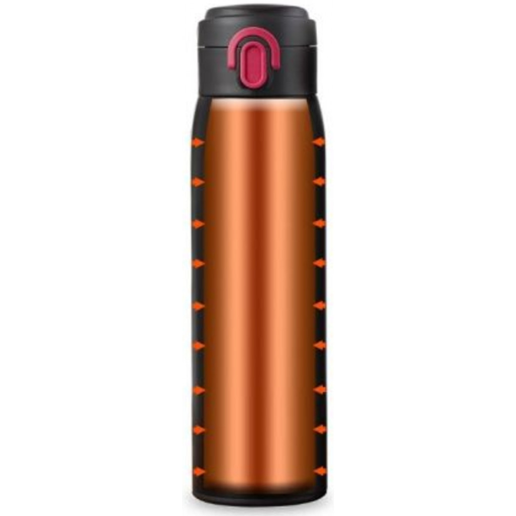 Термос Xiaomi VIOMI Stainless Steel Vacuum 460 ml, черный