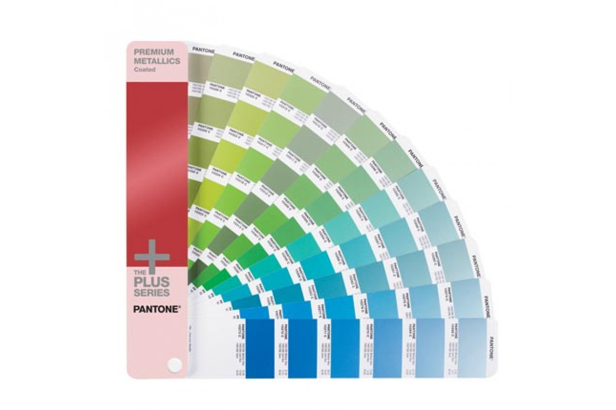 Цветовой справочник Pantone Premium Metallics Guide Coated