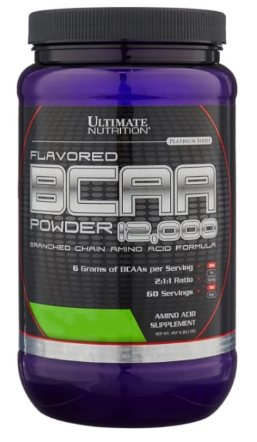 BCAA Ultimate Nutrition BCAA 12000 Flavored (457 г) ежевика