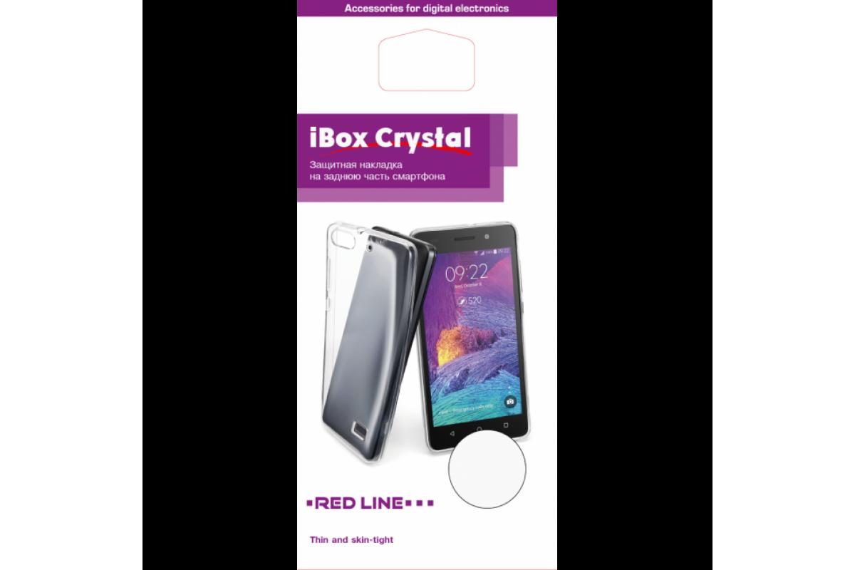 Чехол для смартфона Xiaomi Redmi 4 Pro Silicone iBox Crystal (прозрачный), Redline