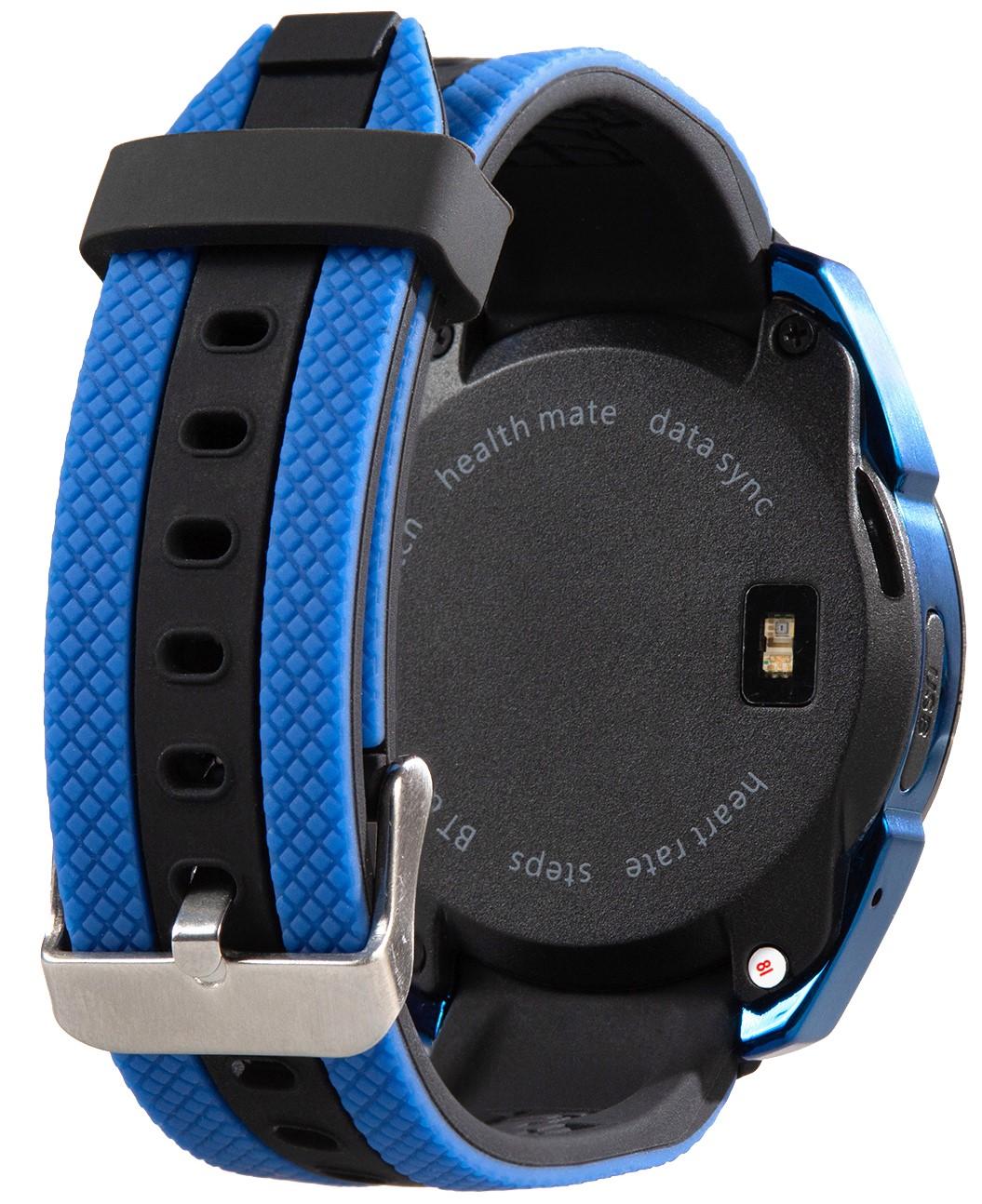 Умные часы Prolike Jet PLSW7000BL с цветным дисплеем, синие