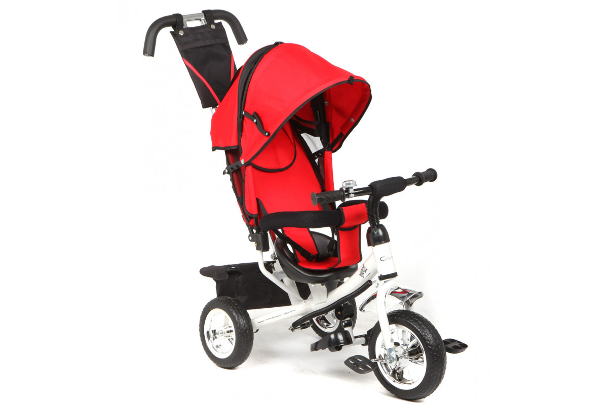 Capella Action Trike II - детский трехколесный велосипед red (красный)
