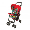 Graco CitiSport - прогулочная коляска Lite Bubles красная с кругами
