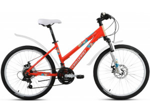 """Велосипед 24"""" Forward Seido 2.0 Disc Красный Матовый 16-17 г 15'"""