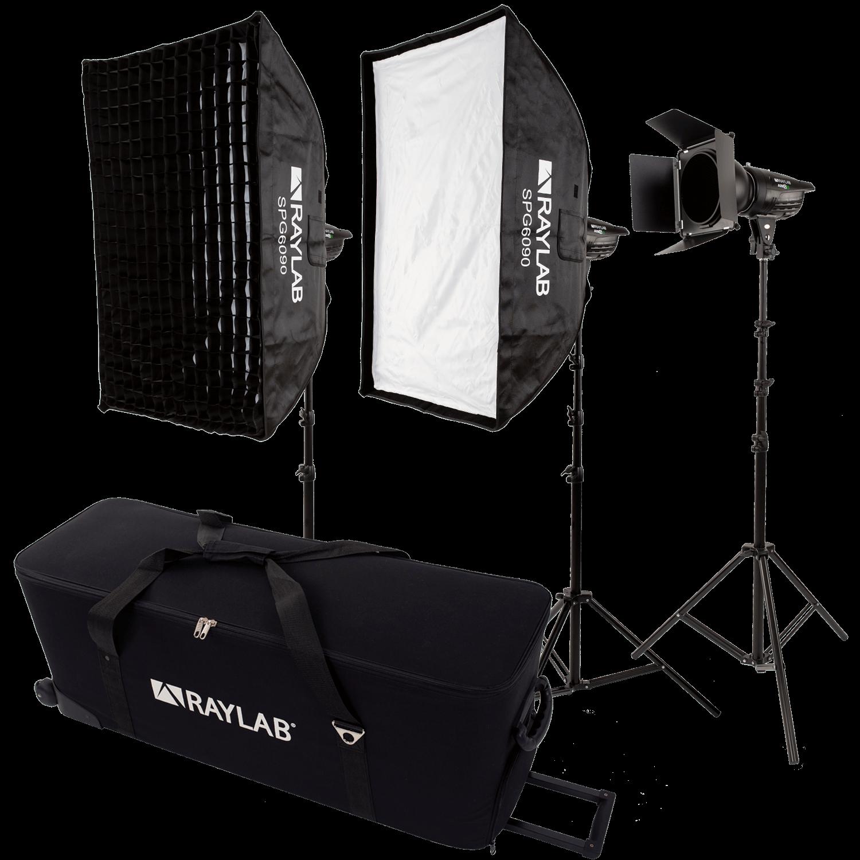 Комплект импульсного света Raylab Axio III 300 Creative Kit