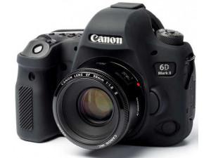 Силиконовый чехол easyCover для Canon EOS 6D Mark II, черный