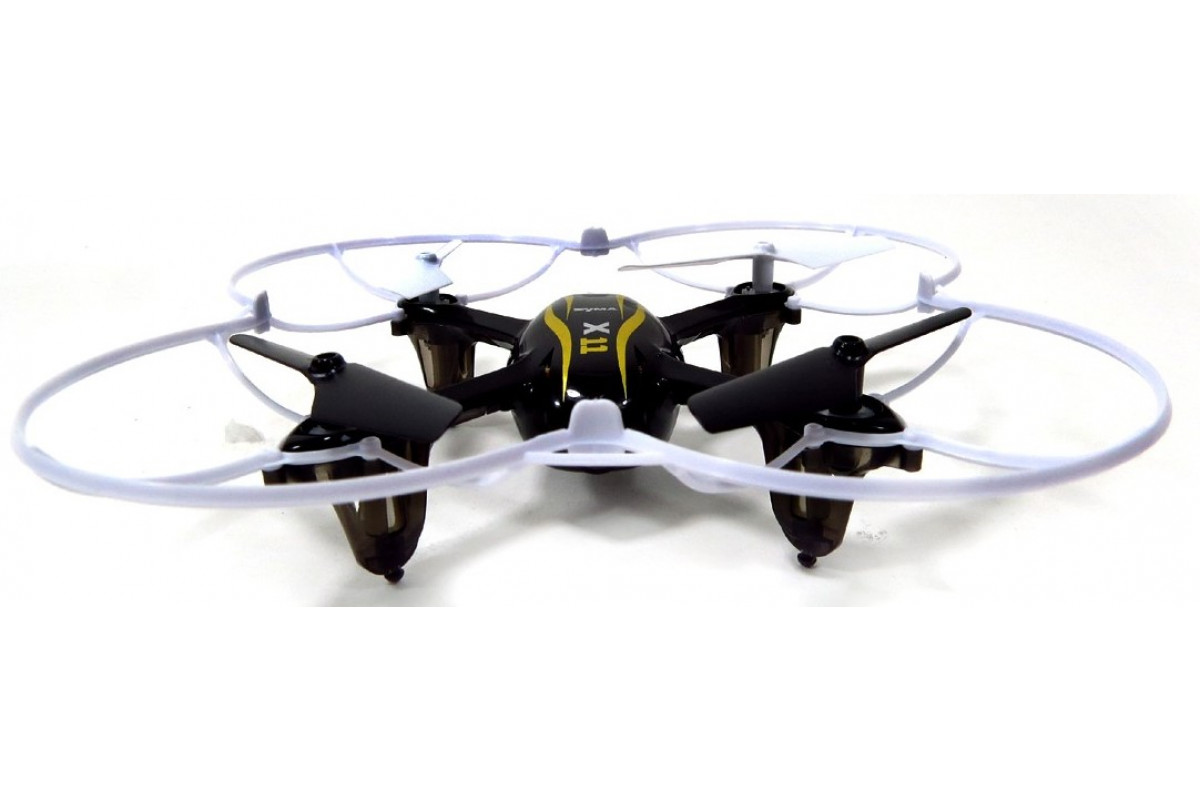 Квадрокоптер Syma X11, черный