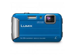 Цифровой фотоаппарат Panasonic Lumix DMC-FT30, синий