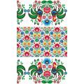 Комплект вафельных полотенец Солнечный дом Петухи 2 шт 40х70