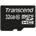 Карта памяти Transcend microSDHC Premium 200X Class 10 (20/17MB/s) 32GB