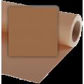 Фон бумажный Vibrantone 2,1х11м Mid brown 20, коричневый