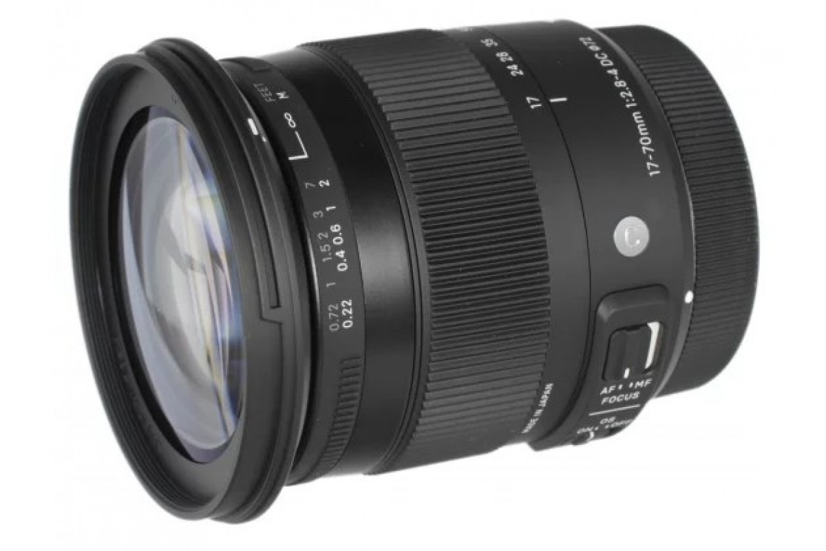 Sigma AF 17-70mm f/2.8-4 DC Macro OS HSM New Contemporary Canon EF-S (