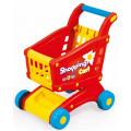 Тележка для супермаркета, DOLU цв.красно-желтый (в коробке) DL_7058
