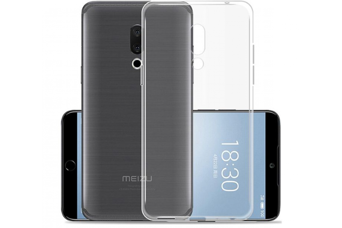 Чехол для смартфона Meizu 15 lite Silicone прозрачный, TFN