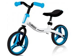 Беговел Globber Go Bike бело-голубой