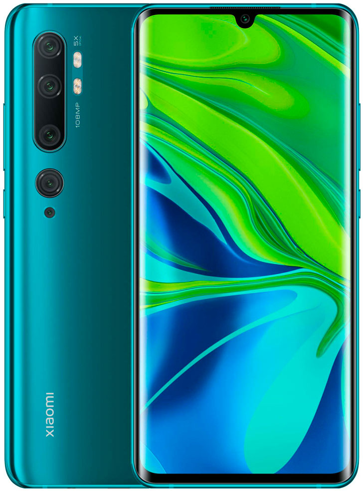 Смартфон Xiaomi Mi Note 10 Pro 8/256Gb Green (Зеленый) Global Version