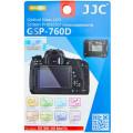 Защитное стекло JJC для Canon EOS 800D, 760D, 750D, 700D, 650D + 2 защитные пленки для верхнего дисплея