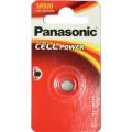 Батарейки Panasonic SR-920EL/1B дисковые серебряно-оксидные SILVER OXIDE в блистере 1шт