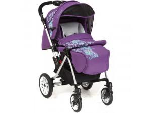 Capella S-803WF Сибирь - прогулочная коляска фиолетовая