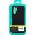 Чехол-накладка для Xiaomi Redmi Note 9 черный, Microfiber Case, Borasco