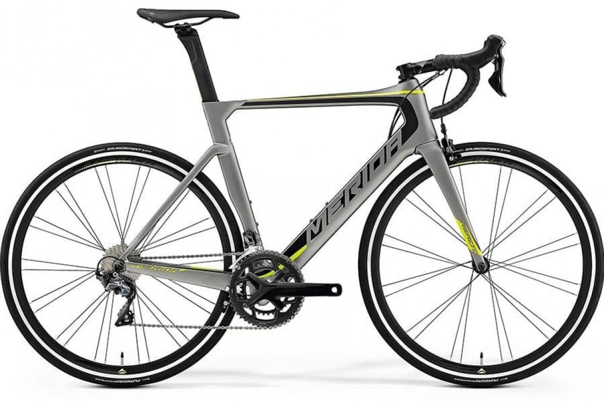 Велосипед Merida REACTO 5000 MattMetallicGrey/Black/Green 2019 SM(52cm)(70668)