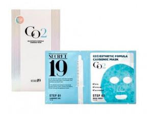 Esthetic House Маска-активатор для карбокситерапии CO2 Esthetic Formula Carbonic Mask 15 мл+1 шт*5 г
