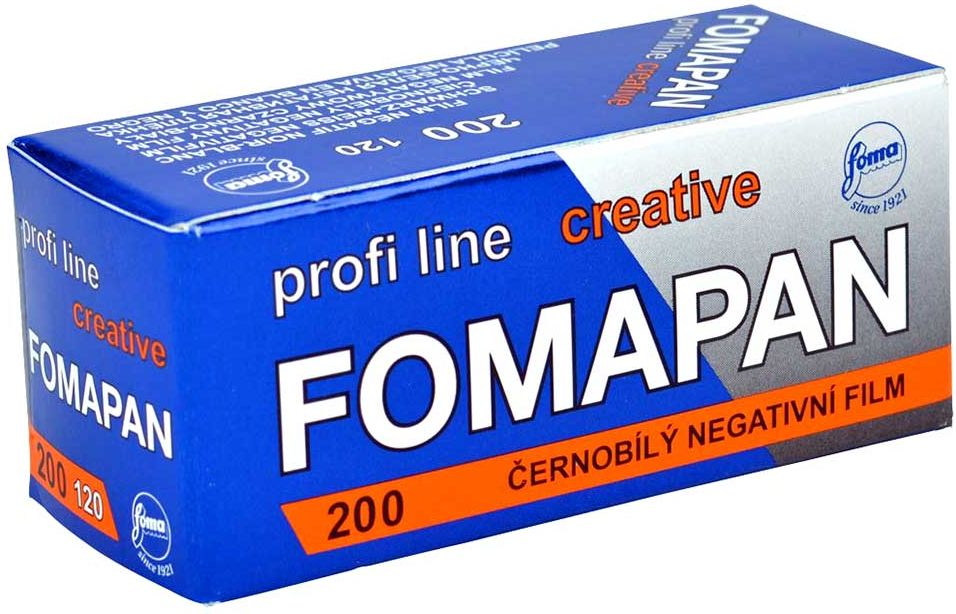 Фотопленка Foma PAN Creative 200 120/12