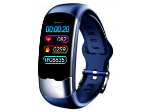 Фитнес браслет Bakeey H02, синий