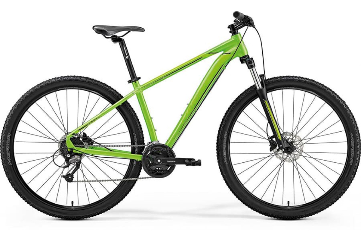 "Велосипед Merida Big Nine 40-D Lite Green (Black) 2019 M(17"")(93298)"