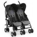 Chicco Echo Twin Stroller - коляска для двойни Coal