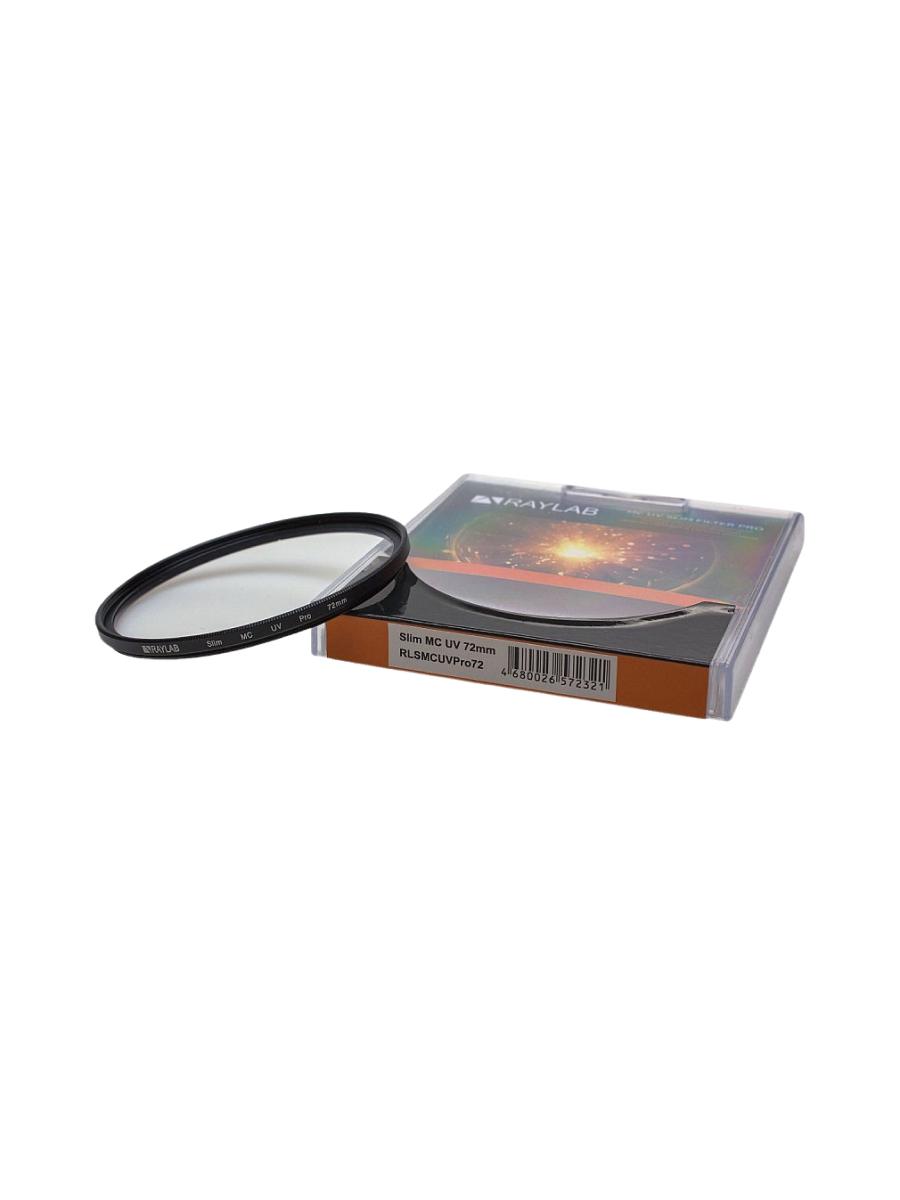 Фильтр защитный ультрафиолетовый RayLab UV MC Slim Pro 72mm