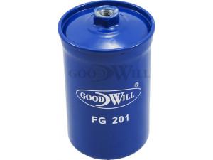 Фильтр топливный GoodWill FG201 для Audi, Ford, Volvo, VW, Saab (гайка)