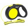 Поводок-рулетка Flexi New Neon трос S 5m 12 кг