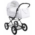 Inglesina Vittoria - коляска-люлька для новорожденных на шасси Ergobike Slate (AB10E6GAR + AE15E6100)