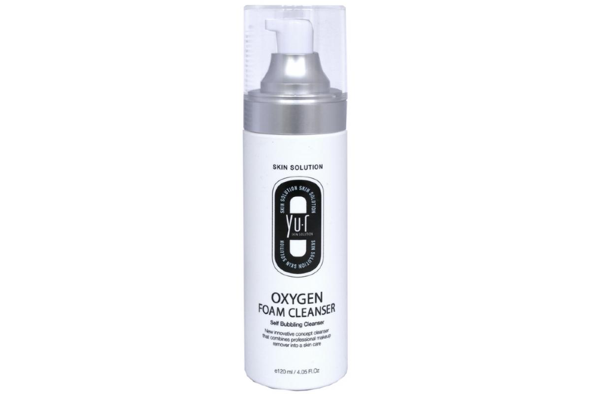 Кислородная пенка для умывания Yu-r Oxygen Foam Cleanser, 120 мл 1 шт.
