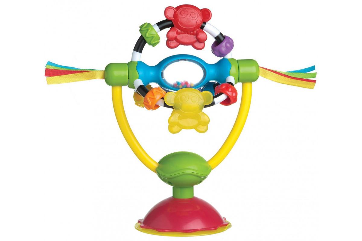 Playgro Игрушка развивающая погремушка на присоске 0182212