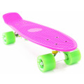 PWSport Classic 22 Скейтборд (розовый-зеленый)