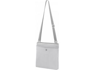 Сумка Victorinox Victoria Affinity, цвет серебристый, 25x4x27 см, 3 л, 601778