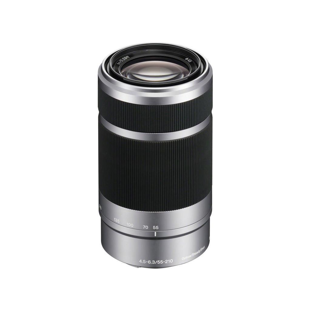 Объектив Sony E 55-210mm f/4.5-6.3 серебро