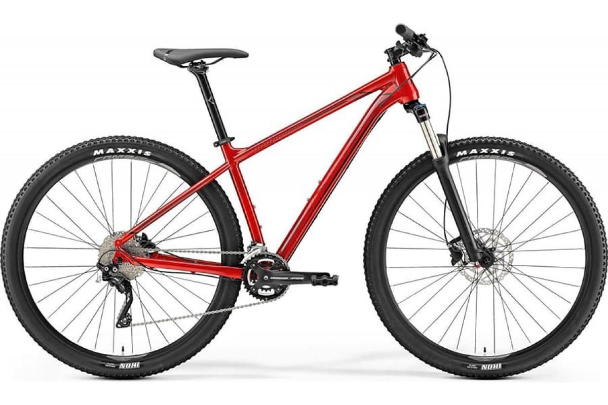 "Велосипед Merida Big Nine 300 Metallic Red (Dark Red/Black) 2019 L(18,5"")(75168)"