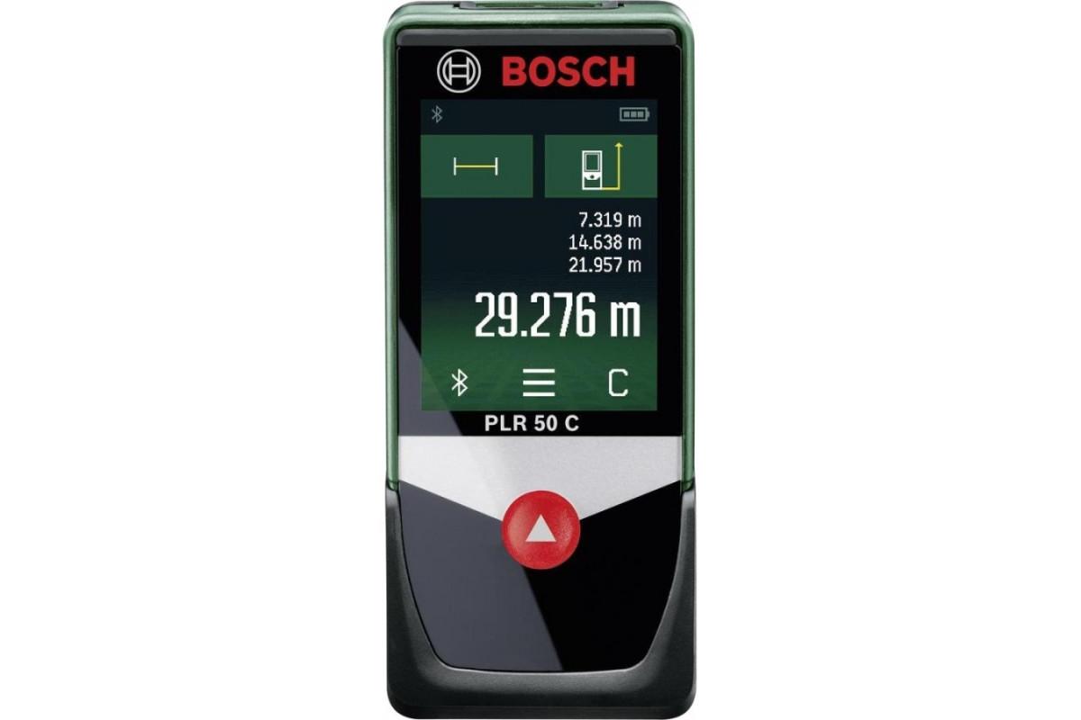 Дальномер лазерный Bosch PLR 50 C (0.603.672.220)  дальность 0.05-50м, точность ±2мм