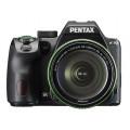 Зеркальный фотоаппарат PENTAX K-70 + объектив DA 18-135WR черный