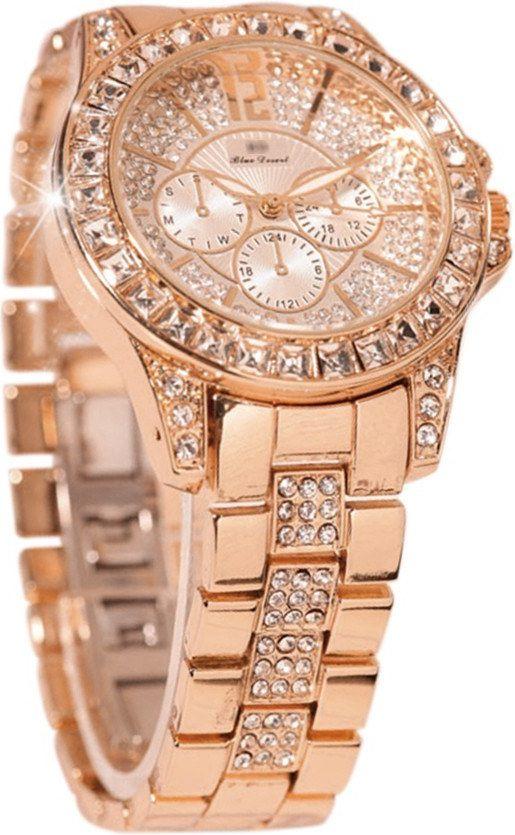 Наручные часы Lady Student Fashion, розовое золото
